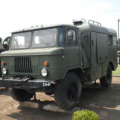 Armoured troop carriers