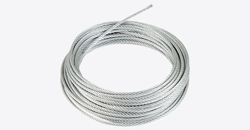 GALVANISED AND STAINLESS WIRE ROPES