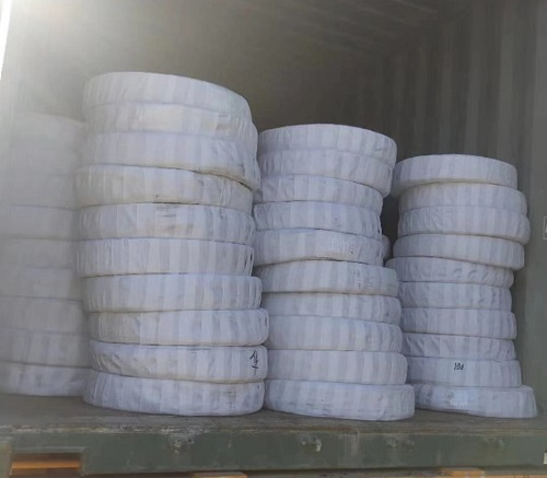 export three container of brake system parts to Honda in Parkistan